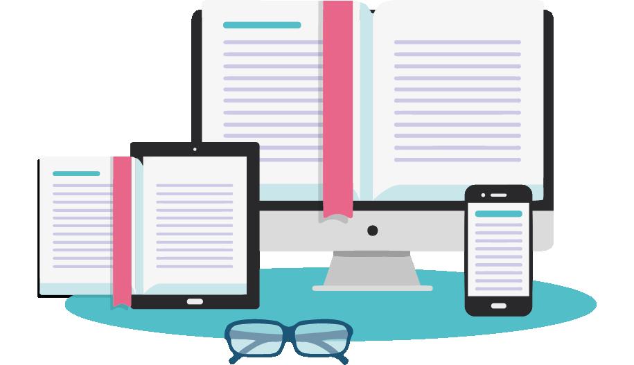 Entra en el mundo del libro digital. Realizamos la conversión ebook de tu fondo editorial