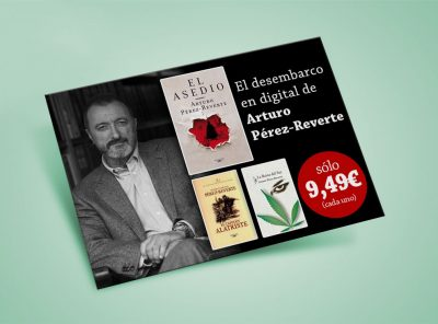 Banner ebooks Arturo Pérez-Reverte