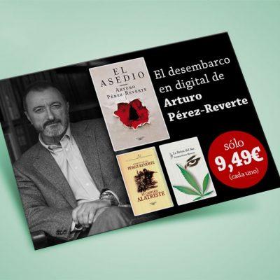 Banner ebooks Arturo Pérez-Reverte