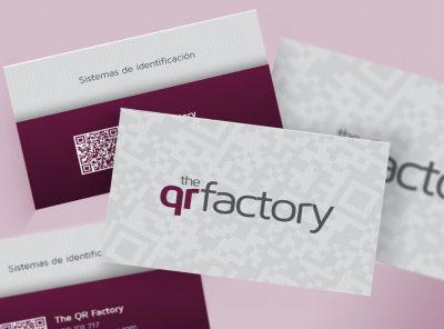 Targetes de visita The QR Factory