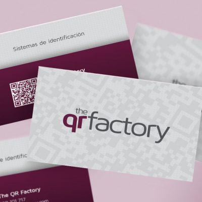 Tarjetas de visita The QR Factory