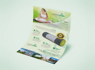 Poster Ecolux Yoga Towel