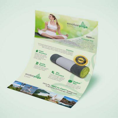 Poster Ecolux Yoga Towel