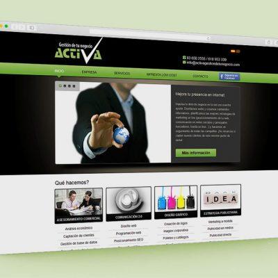 Pàgina web Activa