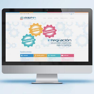 Página web Dolphin Tecnologías
