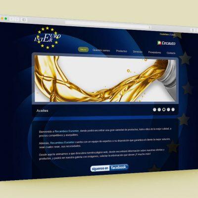 Página web Eurointer