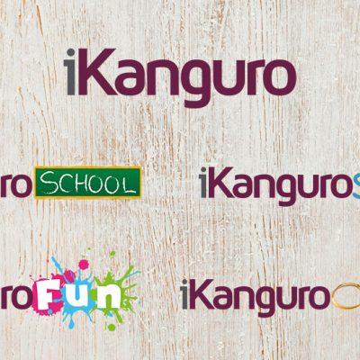 Serie de logos iKanguro