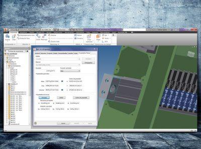 Modelado CAD 3D maquinaria industrial