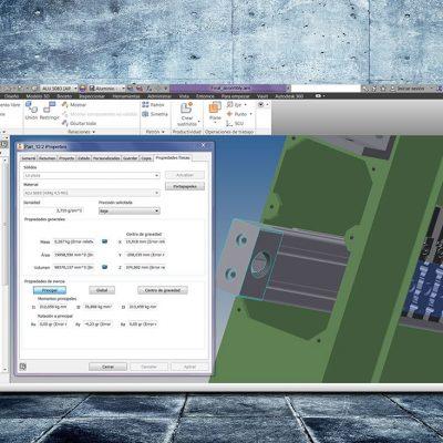 Modelat CAD 3D maquinària industrial