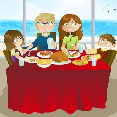 Dinar en família