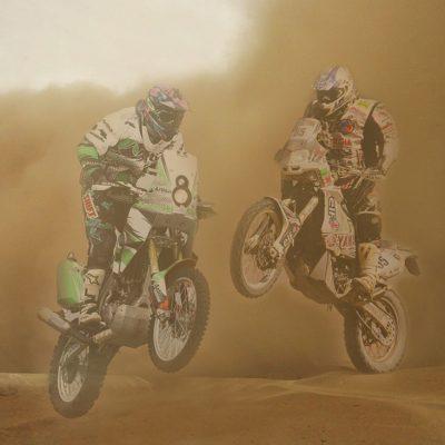 Motos al desert
