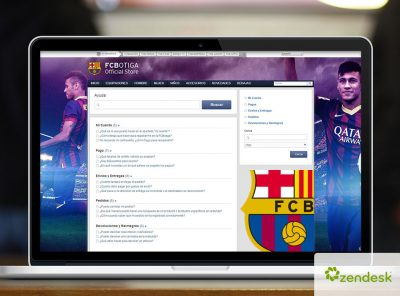 Zendesk FCBotiga Official Store