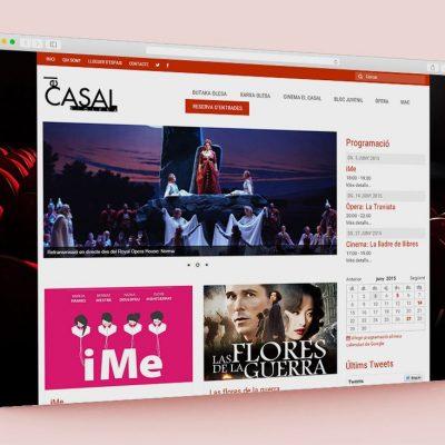 Página web El Casal d'Olesa