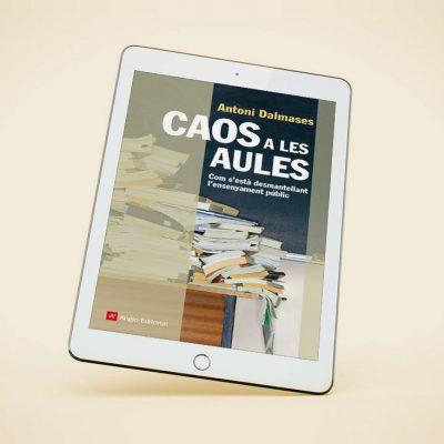 Ebook 'Caos a les aules'