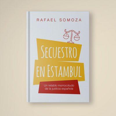 Libro, portada y ebook 'Secuestro en Estambul'
