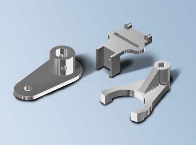 Modelado CAD 3D piezas mecánicas