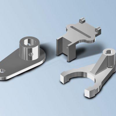 Modelat CAD 3D peces mecàniques