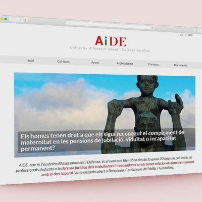 Página web AiDE