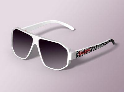 Modelado CAD 3D gafas de sol Flow