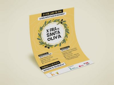 Poster X Fira de Santa Oliva