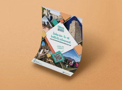 Poster i lona Turisme d'Olesa