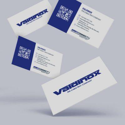 Tarjetas de visita Valdinox