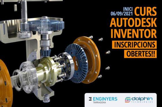 Inscripcions obertes al curs d'Autodesk Inventor