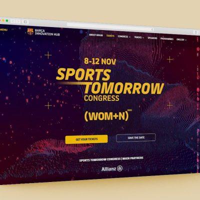 Página web Sports Tomorrow Congress 2021